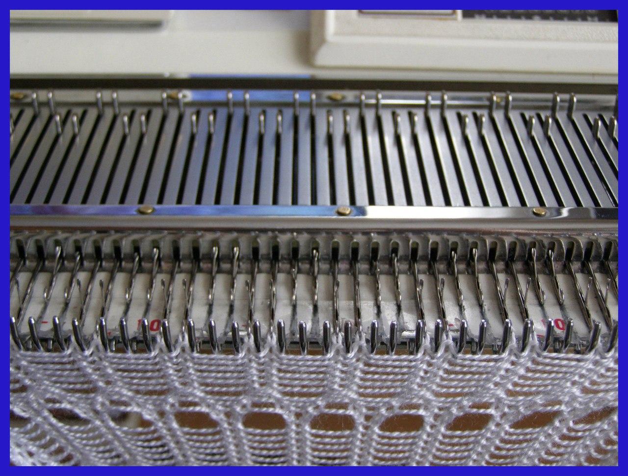 Машины для вязания рыболовных сетей